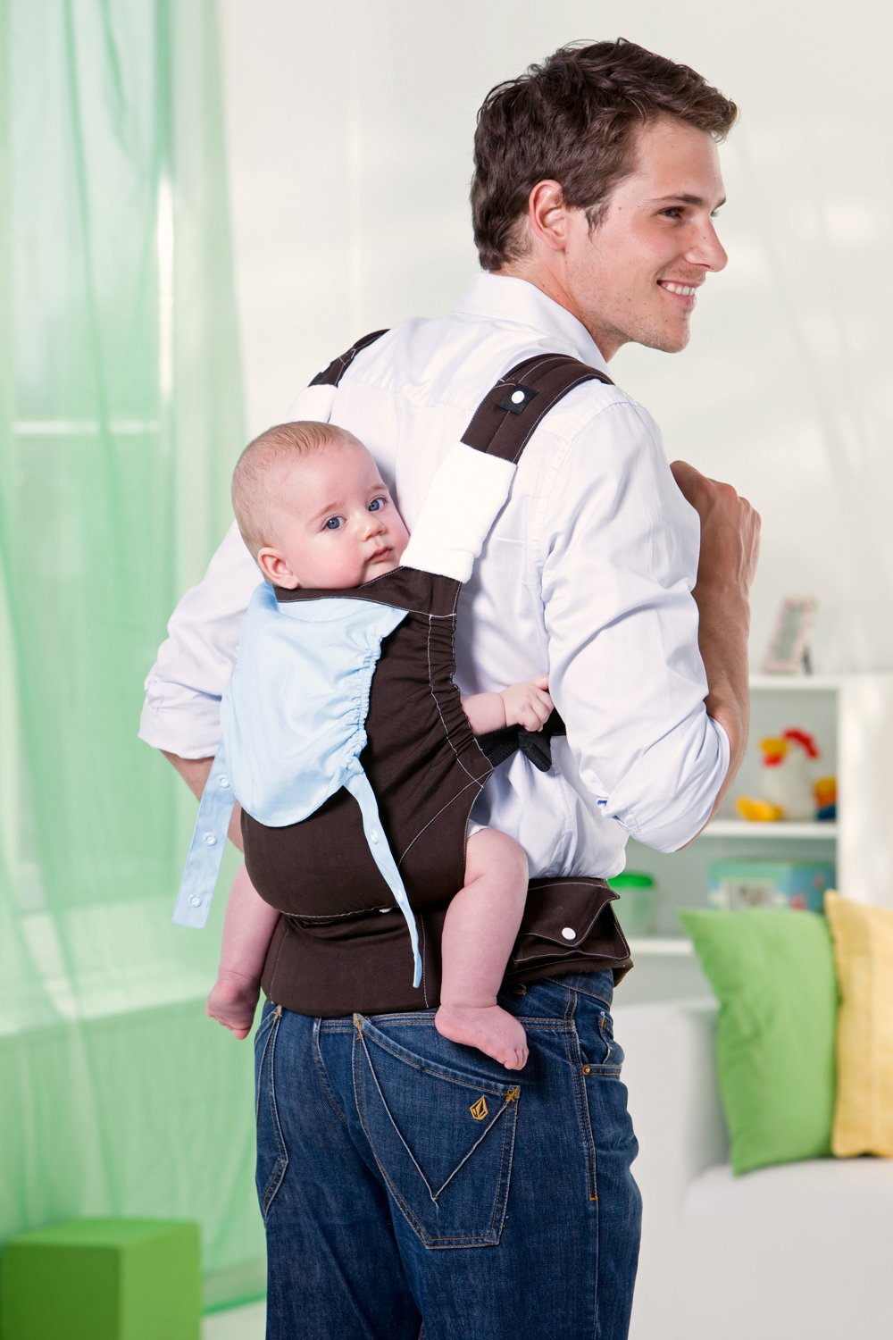 Amazonas Baby Smart Carrier - Earth AMAZONAS Waist belt length: 78 - 145 cm Flexible bridge: approx. 26 - 33 cm Load capacity: max. 3.5 - 15 kg 4