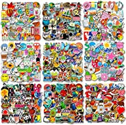 500 PCS Cool Laptop Stickers Vinyl Graffiti Decals, Variety Pack Waterproof Stickers for iPad, Water Bottle, T