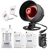 KERUI Standalone Home Alarm Systeem DIY Kits Horn Alarm Kit A
