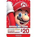 Nintendo eShop PrePaid Card $20 USD (Switch/3DS/Wii U)