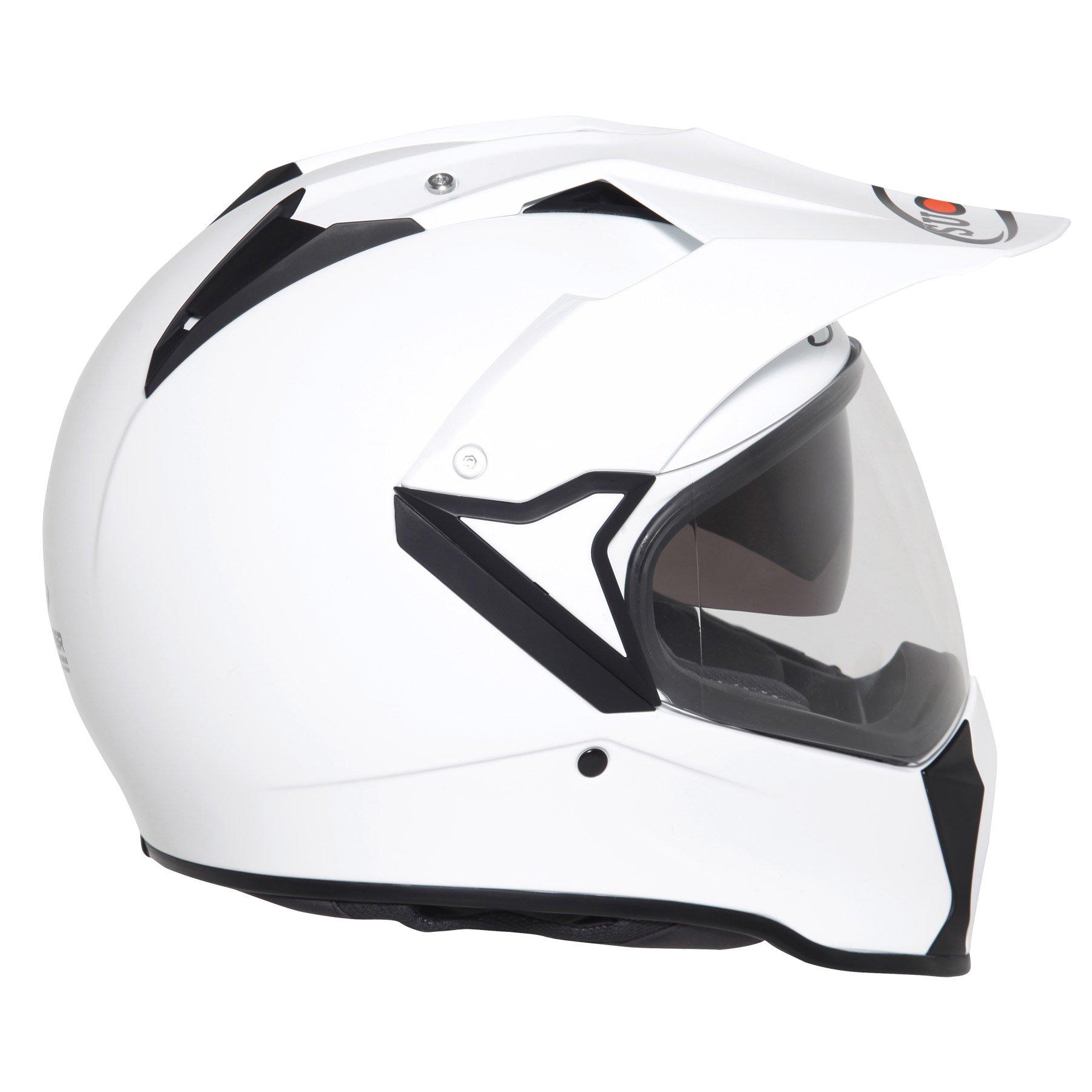SUOMY - Casco Mx, Bianco(Plain White), XL