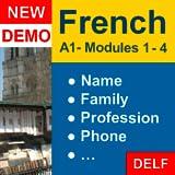"""Aprender Francés: Curso Interactivo - A1 (Principiante): """"Primer encuentro"""" - DEMO."""