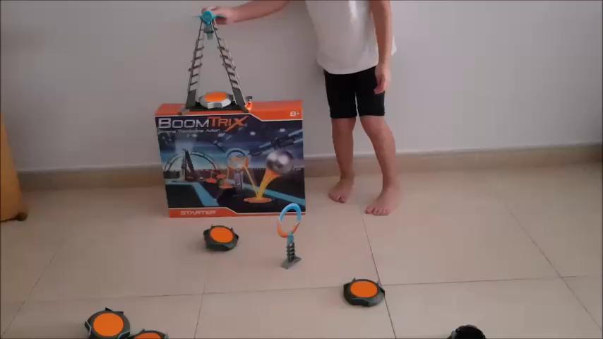 Goliath- Boomtrix, Pack Lanzadera y trampolines (80602): Amazon.es: Juguetes y juegos