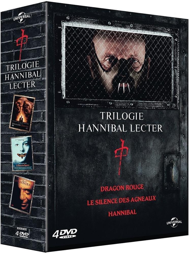Coffret hannibal lecter 3 films : le silence des agneaux ; dragon rouge ; hannibal [Edizione: Franci