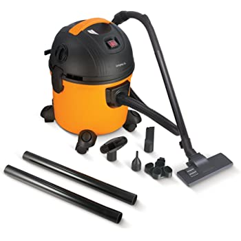 Impex VC-4703 Multi-Purpose Wet & Dry Vacuum Cleaner (1000 Watts,Yellow & Black)