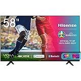 "Hisense 58AE7000F, Smart TV LED Ultra HD 4K 58"", HDR 10+, Dolby DTS, Alexa integrata, Tuner DVB-T2/S2 HEVC Main10…"