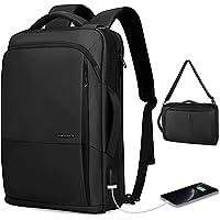MARK RYDEN Business Laptop Rucksack 3 in 1 wasserdichte Umhängetasche Handtasche für Männer und Frauen mit USB-Anschluss…