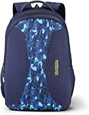 American Tourister Alto 31 Ltrs Blue Casual Backpack (Fh8 (0) 01 002)