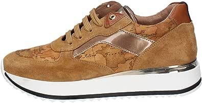 ALVIERO MARTINI Scarpe Sneakers Donna N07430029 Pelle X582 Originale AI 2021