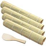 Bamboo Sushi Tapis de Sushi en Bambou Kit de Fabrication de Sushi en Bambou Sushi DIY Kit Tapis en Bambou Tapis de Cuisine en