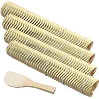 Bamboo Sushi Tapis de Sushi en Bambou Kit de Fabrication de Sushi en Bambou Sushi DIY Kit Tapis en Bambou Tapis de…