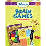 Skillmatics Educational Game: Brain Games (6-99 Years) / Erasable and Reusable Activity Mats / Toy with Marker / Learning Too