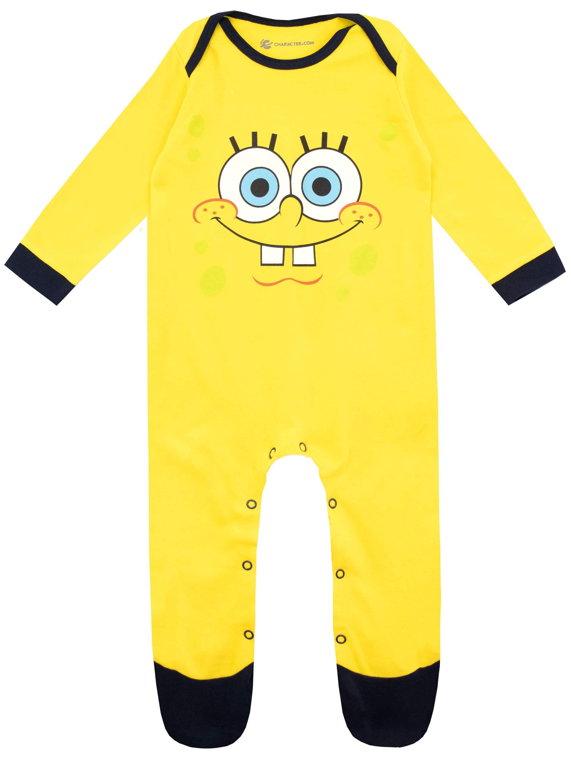 Bob Esponja Pijama Entera para Niños Bebés Spongebob Squarepants 1