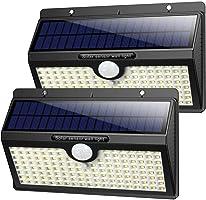 Luce Solare Led Esterno,【2019 Super Luminosa 138LED-1400 lumen】iPosible Luci Solari Esterno Lampade Solari con Sensore...