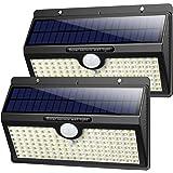 Luce Solare Led Esterno, 【2019 Super Luminosa 138LED-1400 lumen】iPosible Luci Solari Esterno Lampade Solari con Sensore di Mo