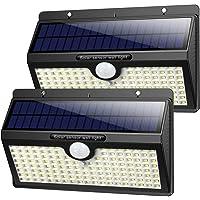 Solarlampen für Außen mit Bewegungsmelder,【2019 Superhelle 138LED-1400Lumen】iPosible Solar Wasserdichte Wandleuchte…