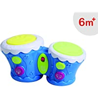 Luvlap Music and Light African Drum for Baby, Multicolor