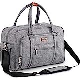 Bolsa de Pañalera WEAVILA, bolso para pañales unisex con almohadilla para cambiar y bolsillos aislados para Mamá y Papá, bols