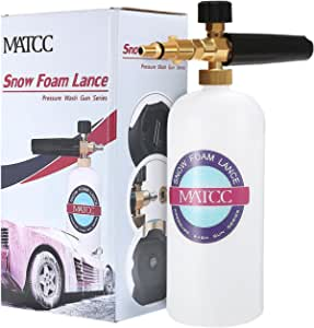 Matcc Snow Foam Lance Pressure Wash Gun 1 Auto