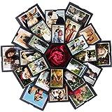 VEESUN Explosion Box, Scrapbook DIY Photo Album, Fai da Te di Scatola Sorpresa, Album Fotografico Confezione Regalo di 6 Volt