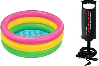 Intex Inflatable Swimming Pool With Hand Pump