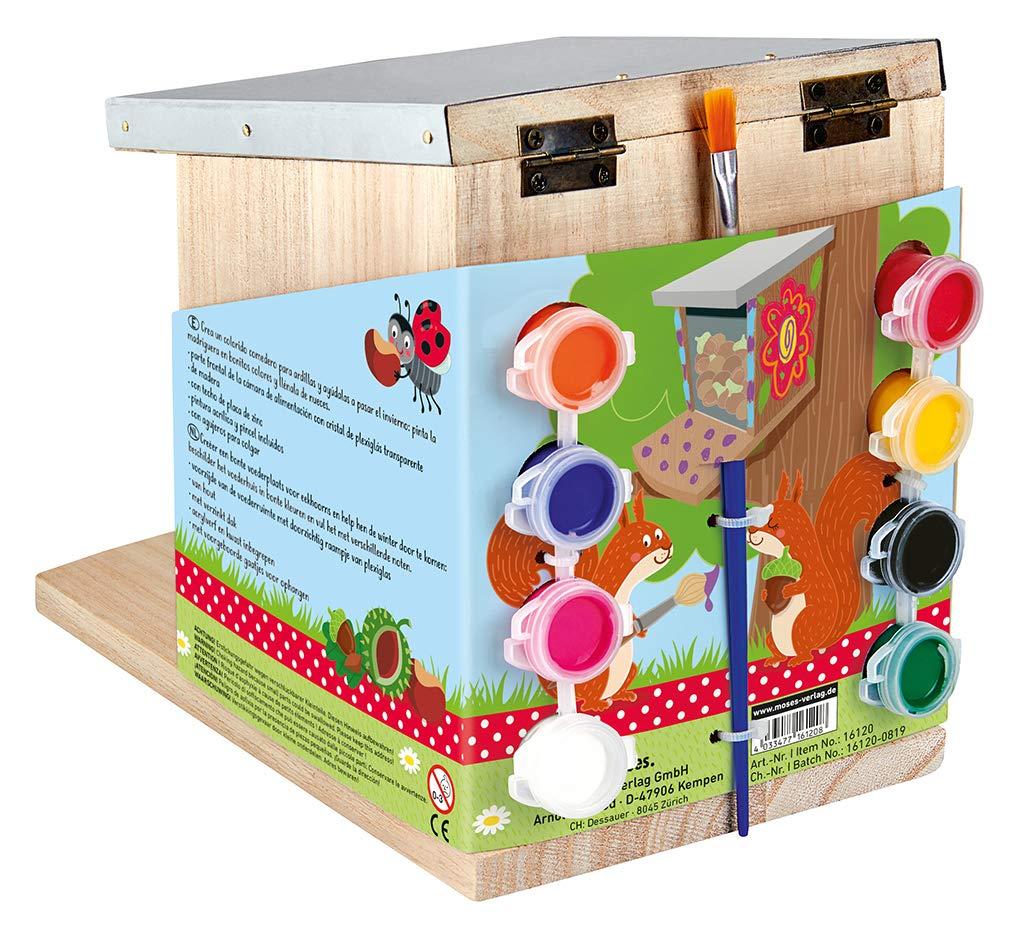BIRD House Nido Giardino Mondo fotocamera pronta Box Appeso Mangiatoia Stazione in legno
