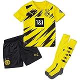 PUMA Borussia Dortmund BVB Mini-kit Home 20/21 uniseks-kind Tee