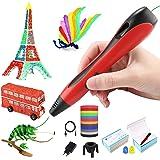 Lovebay Stylo 3D 3D Professionnel Pen Stylo d'impression 3D 【2020 Dernière Version Empêcher Le Blocage】 avec Ecran LCD…