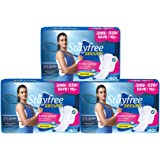 Stayfree Secure XL Cottony Sanitary Napkin 40 Pads-(B2G1) (120 Count)