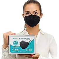 Health2b FFP2 Maske CE Zertifiziert CE1463 Atemschutzmaske Mundschutz, DERMATEST® sehr gut
