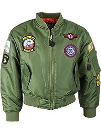 a34af8ad8d52 Kombat UK Children s Ma1 Flight Jacket