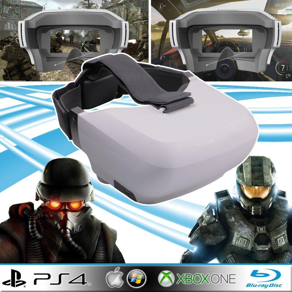 Casque vidéo gamer HD type oculus Rift pour Xbox one, PS4, PC, Blu-ray, PS3, Xbox 360…Réalité virtuelle, VR
