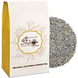 The Indian Chai - Organic Lavender Flower Tea 25g | Herbal Tisane | Caffeine Free | Promotes Relaxation | Good for Hair and Skin |