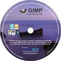 TechGuy4u GIMP 2017 Photo Editor Premium Professional Image Editing Software for PC Windows 10 8.1 8 7 Vista XP