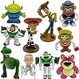 WENTS Toy Story 4 Pack de Aventuras de Woody y Perdigón, Juguetes niños Suministros Divertidos para Fiestas para niños pequeñ