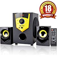 iBELL Castor E210 2.1 Channel Multimedia Home Theatre Speaker System with Bluetooth, USB, FM Radio and Remote Control(Black)