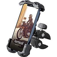 Lamicall Supporto Telefono Bicicletta, Metallico Supporto Motociclo - Manubrio Supporto Cellulare per iPhone 12 Pro, 12…