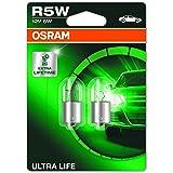 OSRAM 5007ULT-02B ULTRA LIFE, R5W, bijzonder duurzaam, halogeen signaallamp, dubbele blister (2 lampen)