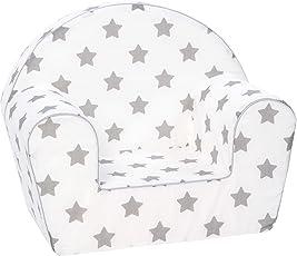KNORRTOYS.COM Knorrtoys 68344 Stars Grey Kindersessel