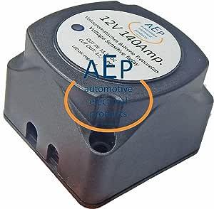 Vollautomatisches Batterie Trennrelais 12 V 140 Ampere Auto
