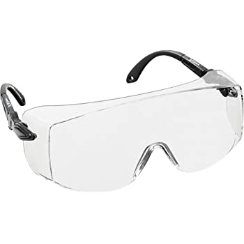 0d926398d5 NoCry Tinted Over-Spec Safety Glasses - with Anti-Scratch Wraparound ...
