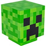 Paladone PP6595MCF Lámpara de mesita Creeper Minecraft, Verde, 19x16 cm