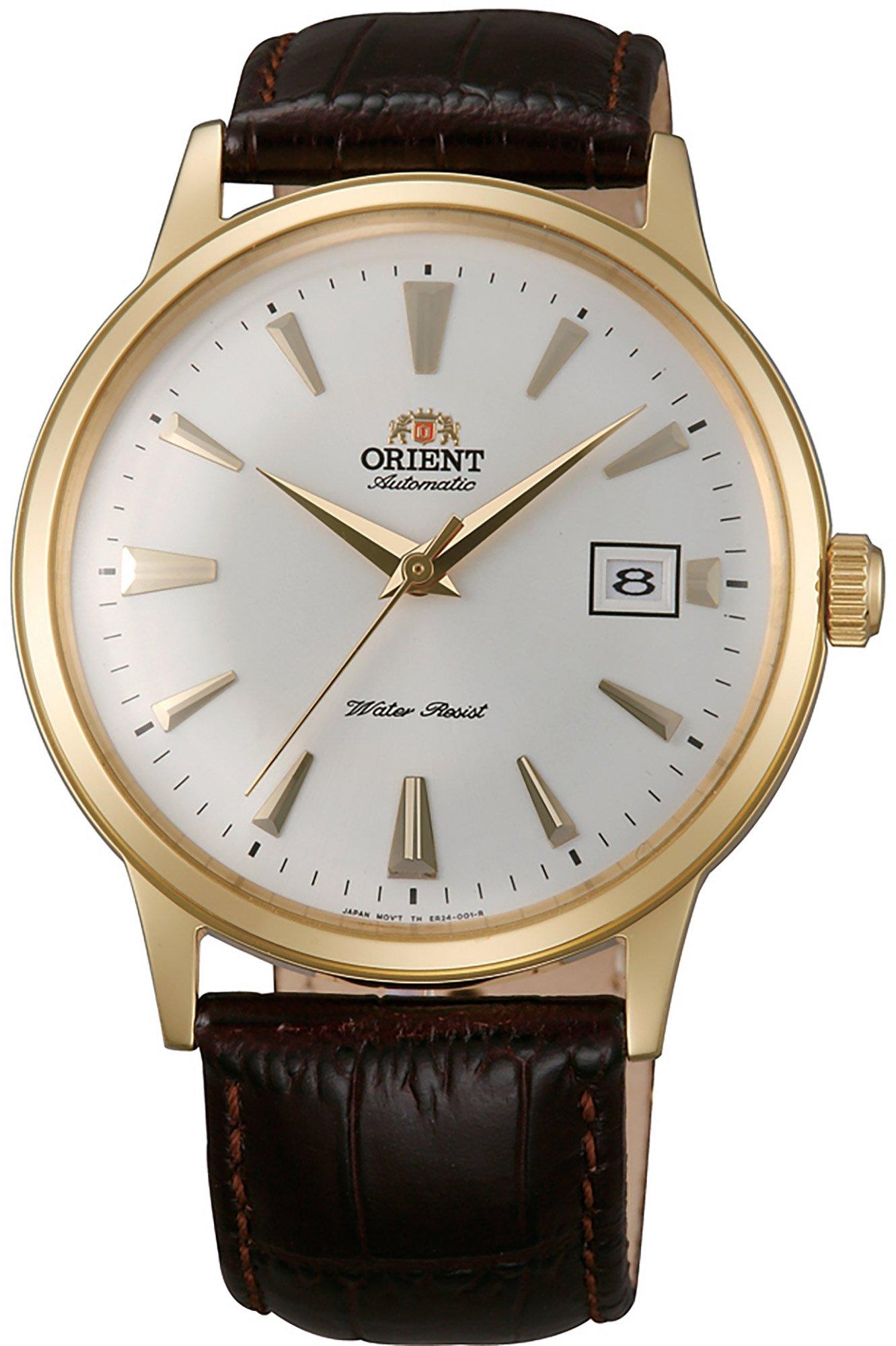 Orient Reloj Analógico para Hombre de Automático con Correa en Cuero FAC00003W0