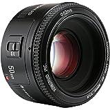 عدسات لكاميرا كانون 50 ملم f/1.8 من يونجنيونيو واي ان