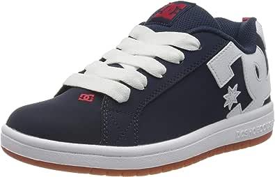 DC Shoes Court Graffik, Scarpe da Skateboard Bambino