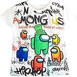 Among Us Camiseta de Manga Corta para niño