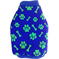 Jainsons Pet Products Soft Comfortable Pet Sweatshirt Dog Winter Warm Cloth (Print May Vary) (14 inch, Multi-Colored)