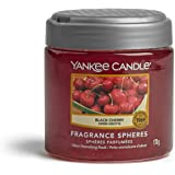 Yankee Candle Fragrance Spheres Air Freshener, Up to 30 Days of Fragrance, Black Cherry