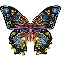 Puzzle en Bois Animaux,Puzzle Adulte et Enfants,Pièces de Puzzles de Forme Unique Animaux Colorés,Jeu de Puzzle Le Jeu…
