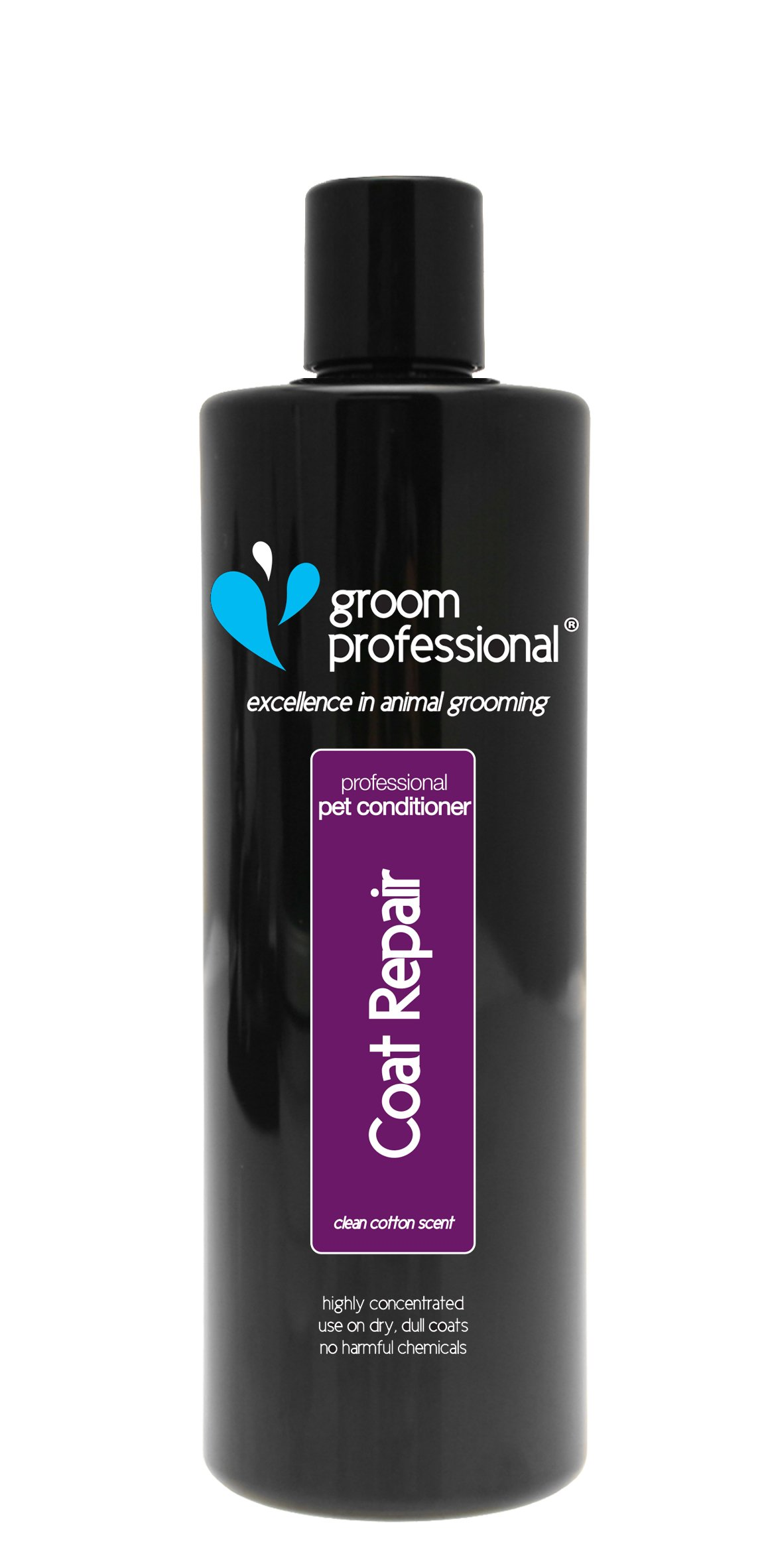 GROOM PROFESSIONAL Coat Repair Highly Concentrated Dog Conditioner, 450ml